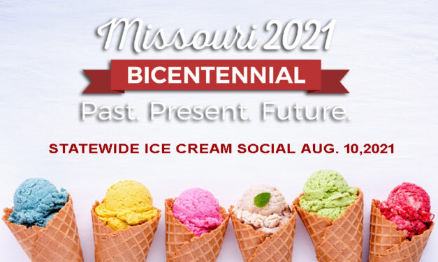 A statewide ice cream social on Aug. 10 for Missouri's 200th birthday