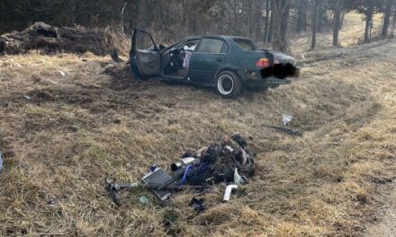 Only minor injuries for driver involved in crash that throws engine in Howard County