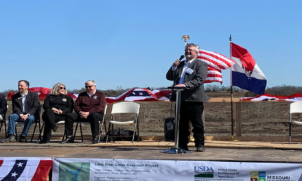 Caldwell County, Gov. Parson celebrate long-awaited reservoir with groundbreaking ceremony