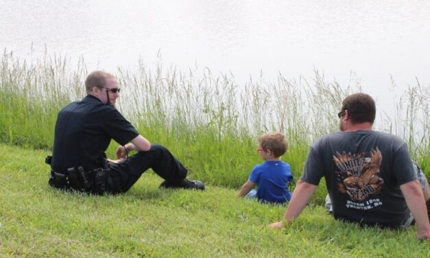 Kids can enjoy fishing with Trenton police at the 9th Annual Cops 'n' Bobbers Fishing Event