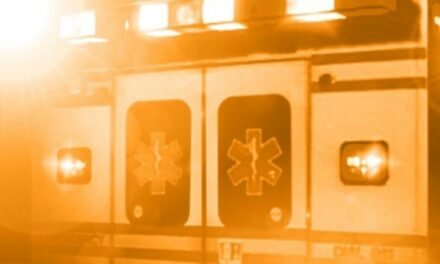 Crash report indicates car hydroplaned off road causing injury