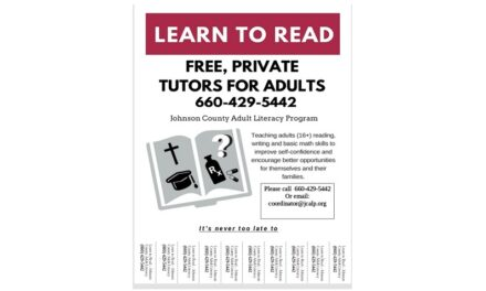 Adults learn to read and write with Johnson County Adult Literacy Program